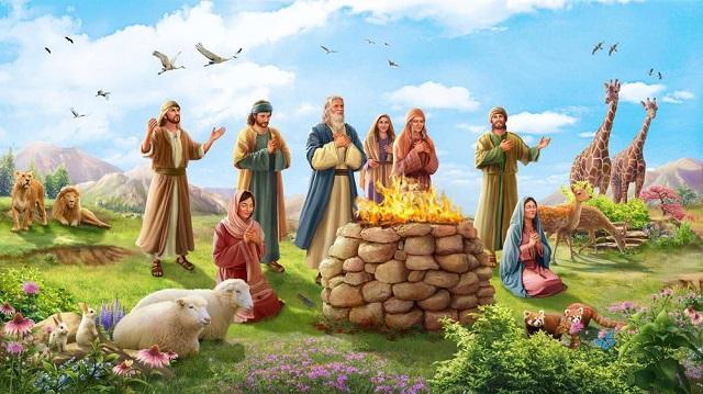 挪亞方舟-神與挪亞立約