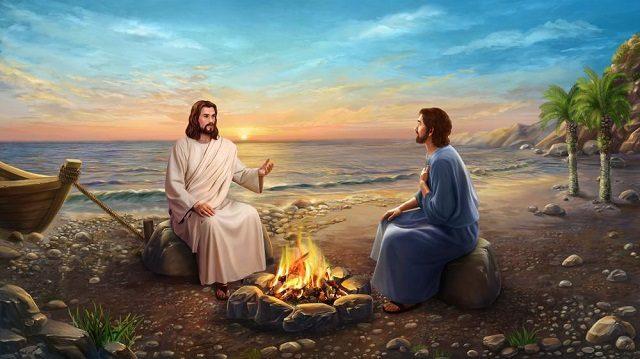 耶穌三次問彼得是否愛他