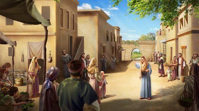 【新約聖經】耶穌和撒瑪利亞婦人